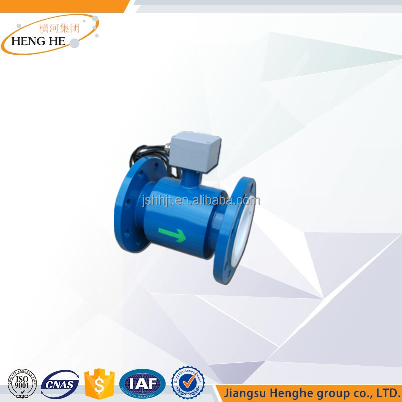 Chinese Suppliers Electrical conductivity meter with record adjust and control functiona Electromagnetic Flowmeter