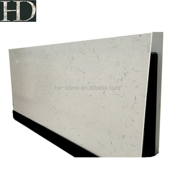 White Artificial Stone Slabs Middle White Quartz with Competitive Price