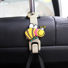 Cartoon Animal Style Car Back Seat Headrest Hanger Holder Hook for Bag Purse Cloth Grocer,Auto Fastener,Car Back Seat Clip,Clasp