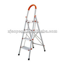 4 Step Aluminum Stairs LadderScaffold Telescopic Foldable Ladder