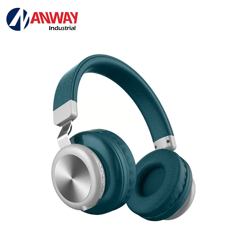 Wireless Headphones Noise-Cancelling Foldable Headset with Carry Case фото