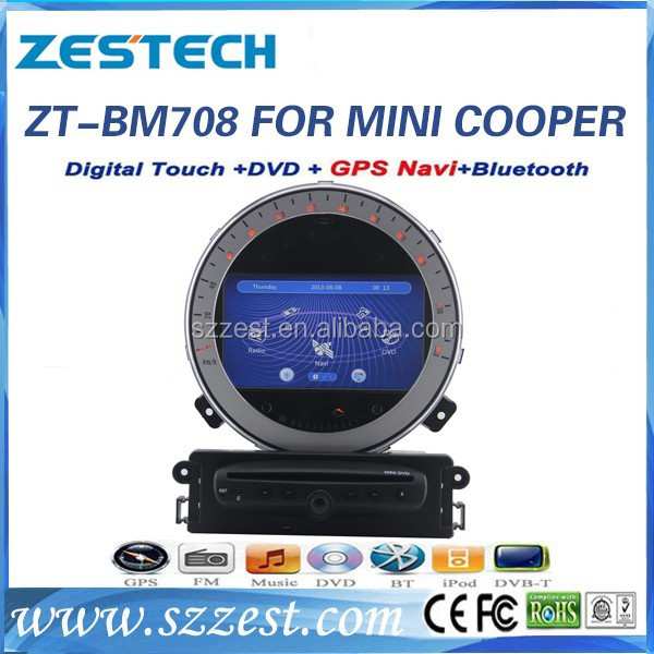 ZESTECH used cars in japan car multimedia navigation system for bmw mini cooper