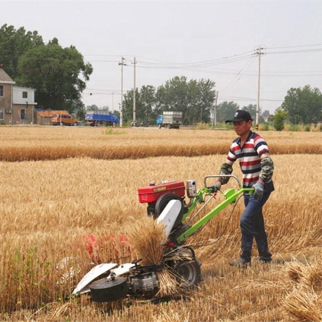 Multi Wheat Cutting Machine Rice Weed Reaper Small Combine