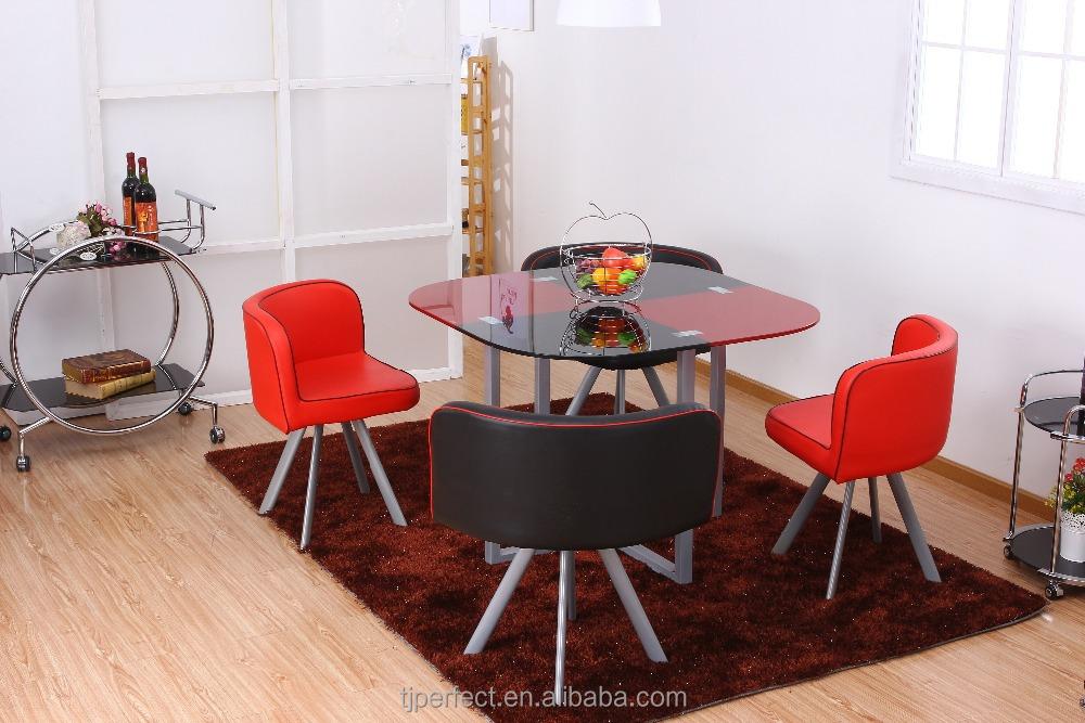 heiß-verkauf platzsparende möbel moderne esstisch set-metalltisch, Esstisch ideennn