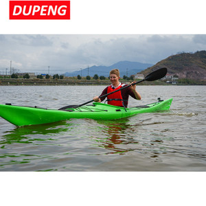 5.4M China sea Kayak Manufacture Supply Sit In Sea Kayak With Stabilizer For Sale