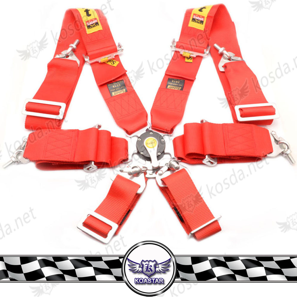 "3"" five-point FIA Harness, Quick release safety harness in FIA 2020"