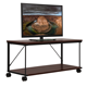 latest design outdoor corner floor TV display table, modern mdf wooden lcd tv stand with wheels