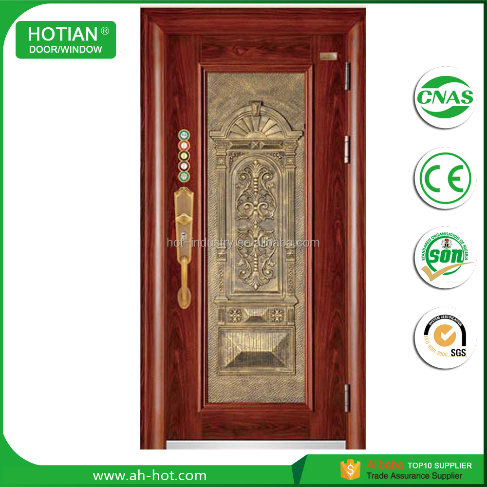 Apartment China Metal Entry Steel Fireproof Fire Rated Steel Door