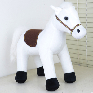 Custom hobby horse stick plush toy