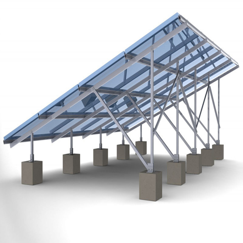 The physical structure of polymer solar bracket architectural design