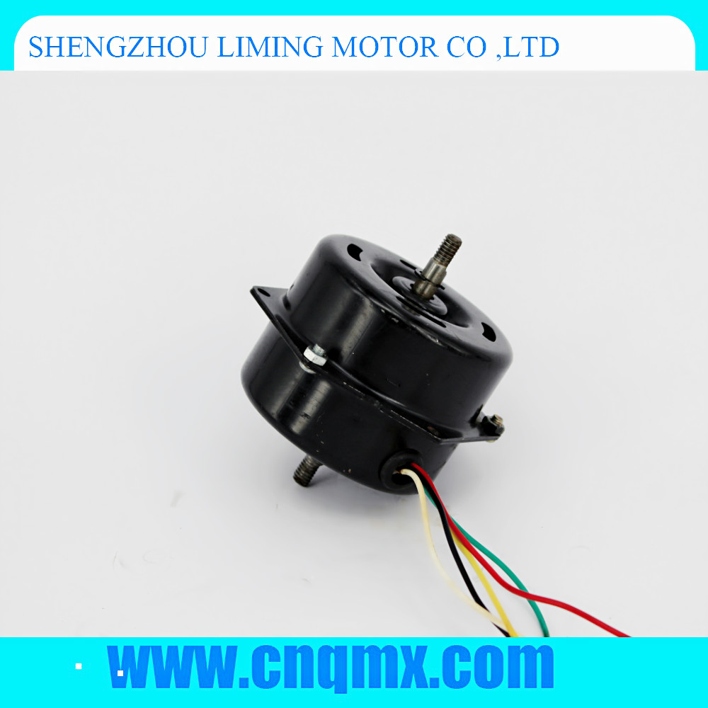 zhejiang china factory wholesales 12DP double out of shaft three speed fresh air system motor filter cleaning air