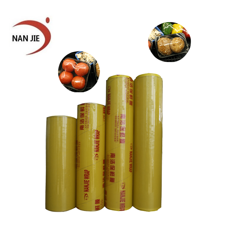 Distributor wanted alibaba price custom logo pvc cling film food wrap