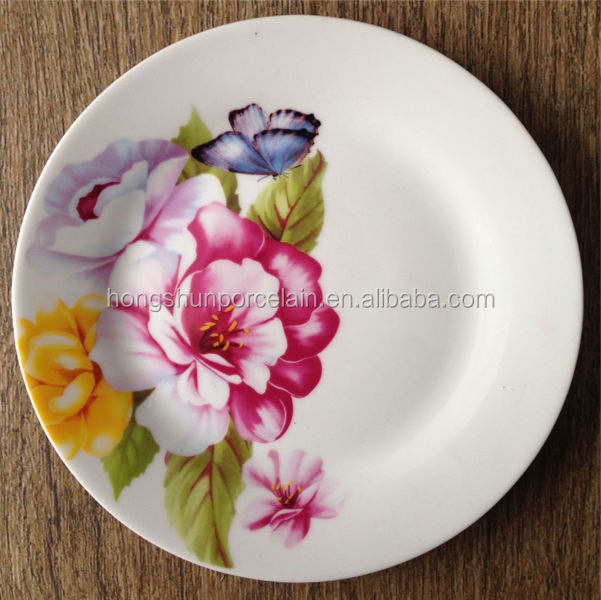 10.5  plate  linyi porcelain plate  disposable plate in india delhi & 10.5