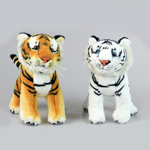 reallike jungle animal stuffed toy customized plush tiger toy