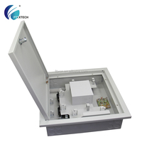 16 cores indoor shell metal distribution cabinets cold rolled steel sheet PLC splitter online shopping
