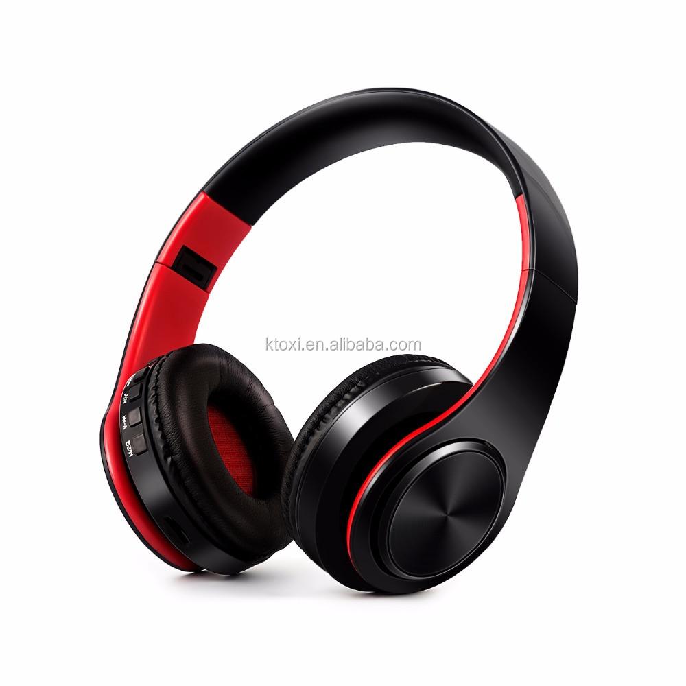 Original Wireless BT Earphones Hands-free Calls Headphones Foldable Sports Music Headsets Built-in microphone