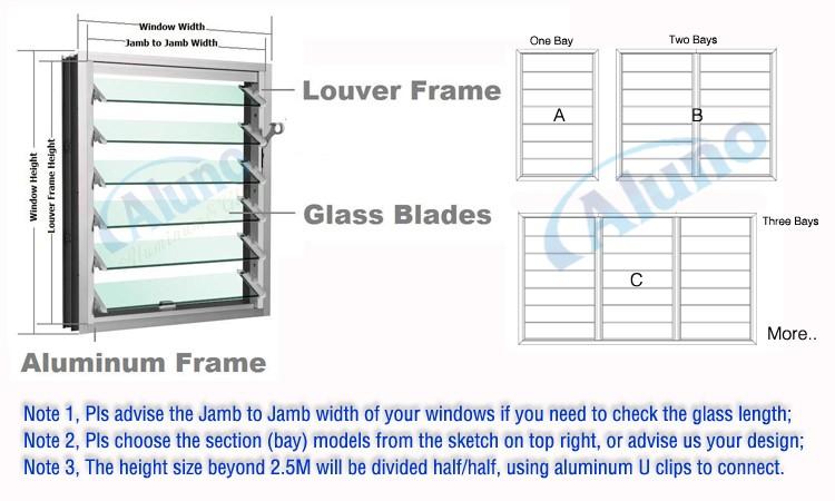 Aluminum Blade Shutter Windows Jalousie Windows Buy