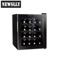 16 Bottles Thermoelectric Portable Wine Cooler Wine Refrigerator Wine cabinet