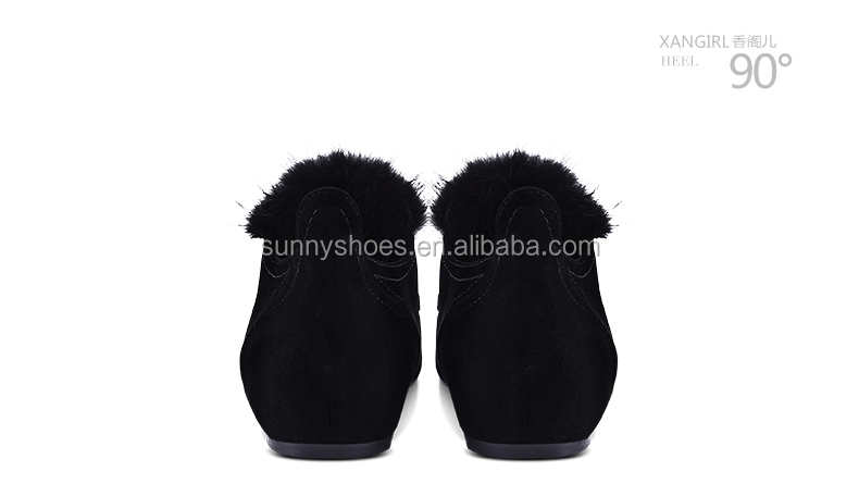 women girls suede wholesale flat almond kid toe royal footwear fluffy design shoes 68Xa81Y