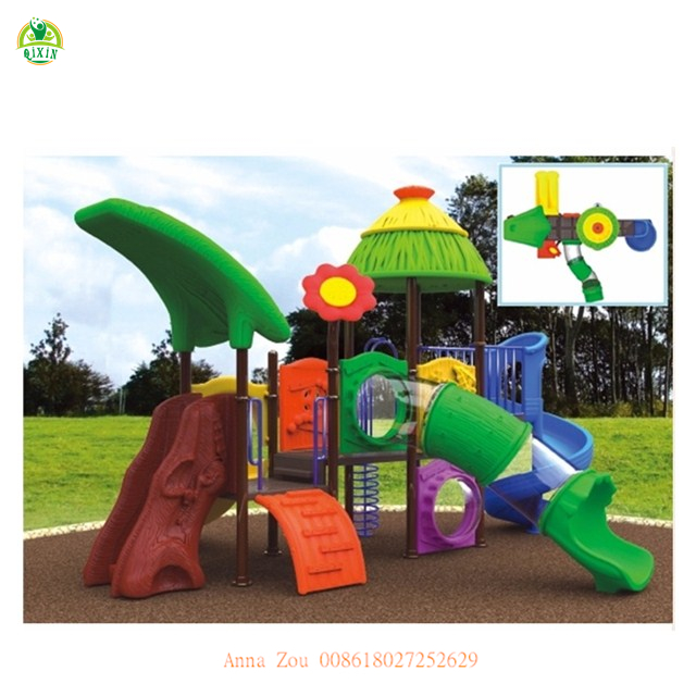 Plastic Outdoor Playground For Toddlers