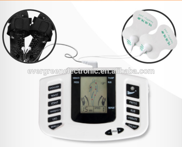 hot sale digital low frequency massager health herald digital therapy machine for pain relief EG-TM03