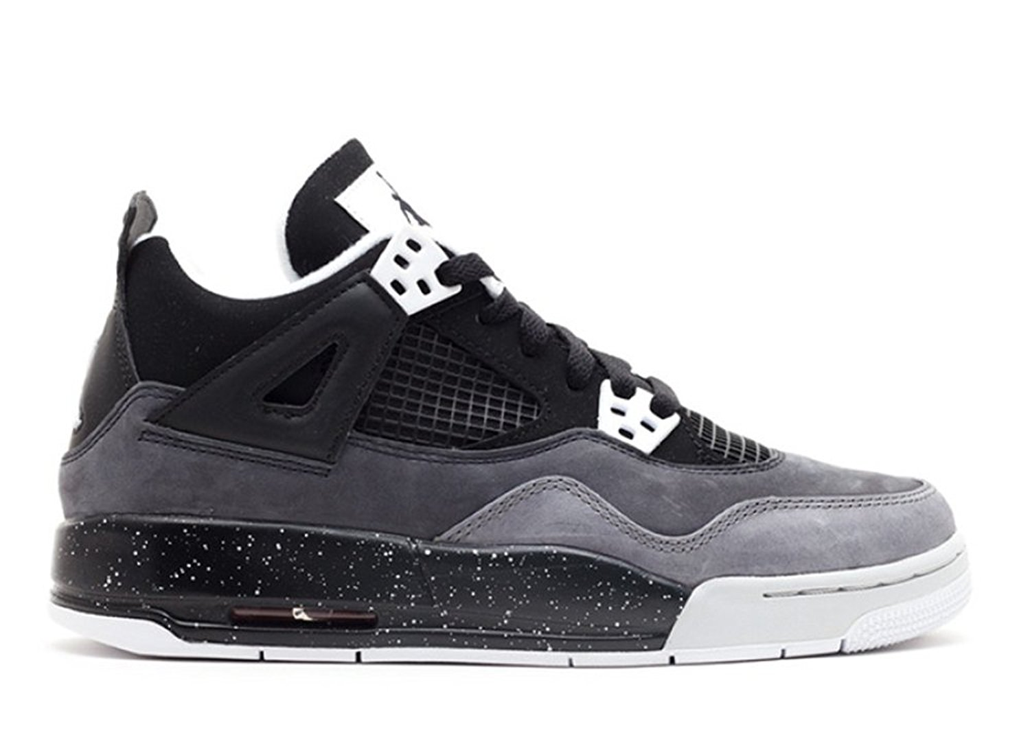 612bb6a84150bd Get Quotations · Tony Barnard Basketball Running Sneakers Leather Athletic Shoes  For Men Air Jordan 4 Retro Gs fear