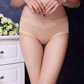 High Quality Lace Underwear Hot Sexy Transparent Panties for Lady