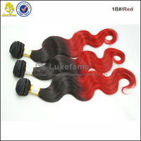 Luxefame beautiful full cuticle body wave rainbow color hair extension