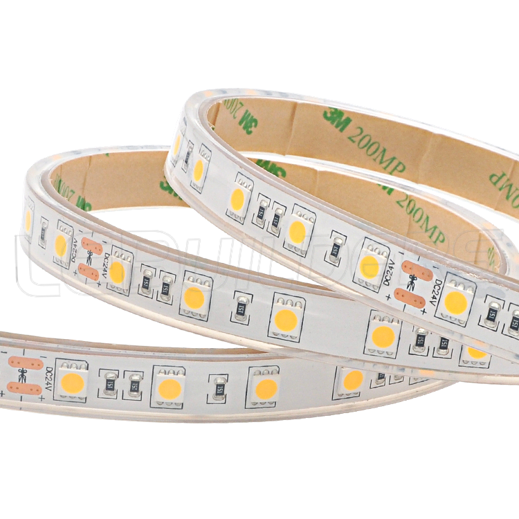 5M 300leds 3528 SMD IP68 Waterproof underwater Strip light LED Tape