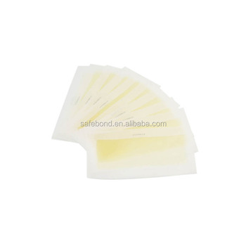 Effective hair wax removal strip from zhejiang manufacturer Safe Wax Strips for man and woman