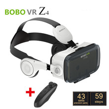 Virtual Reality Bobovr Z4 Google Cardboard 2 Gear VR Oculus Rift dk2 Lentes 3d Imax Glasses Headset + Bluetooth Controller2.0