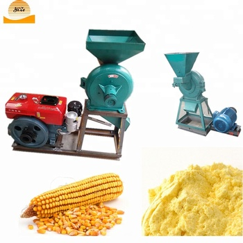 Crusher corn used ,grain mill used ,corn grinding mill with diesel engine