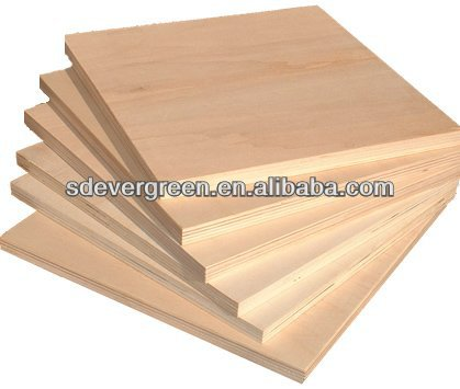 high quality E1/E2 grade heat treated plywood