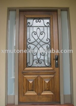 Forg de fer d coration entr e portes de fer inserts buy for Decoration porte fer