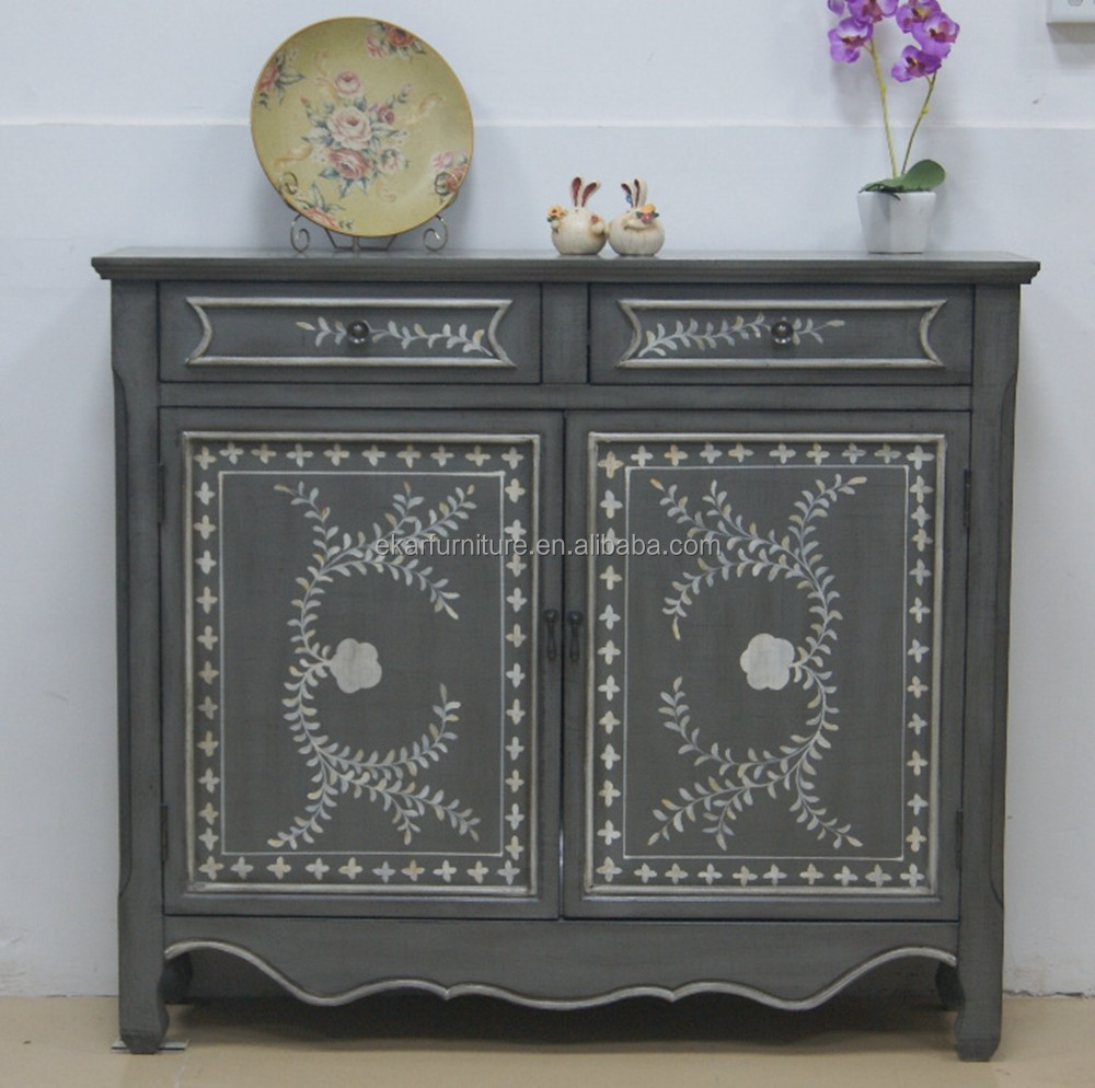 Country Style Console Cabinet Furniture With Storage - Buy Console ...