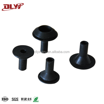 high quality customized black rubber automotive wire harness grommet by  china supplier
