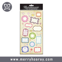 Wholesale Scrapbook Paper Sticker