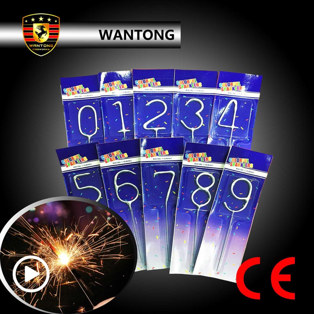 Sparkler Candles Numbers Suppliers And Manufacturers At Alibaba