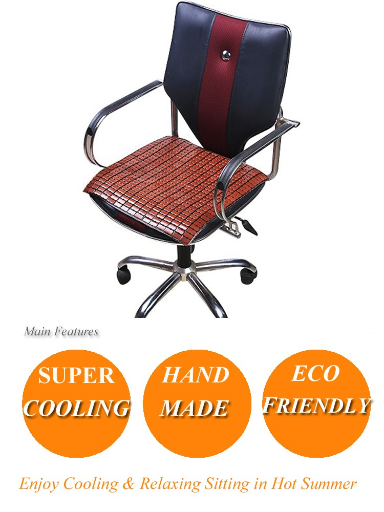 Anti Static Chairs : Cooling domino mahjong mat bamboo anti static chair cover