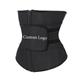 2019 Privata Label Tummy Sweat Latex 7 Steel Bone Slimming Thermo Custom Waist Latex waist trainer for women trimmer Belt