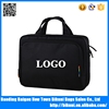 Hot sales custom 14 inches laptop document bag with trolley strap for promotion gift