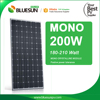 China factory direct solar panel 200watt cheap solar panel china