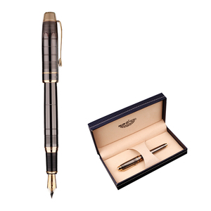 Chinese supplier luxury black hero fountain pen with custom logo