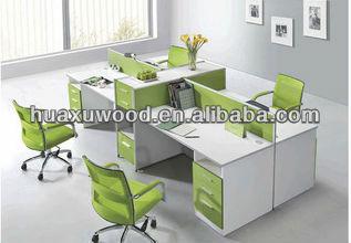 Ufficio Legno Bianco : Bianco mfc mdf bordo di legno ufficio partizione scrivania tavolo