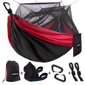 Loops Strap Included Double Person Parachute Camping Mosquito Hammock