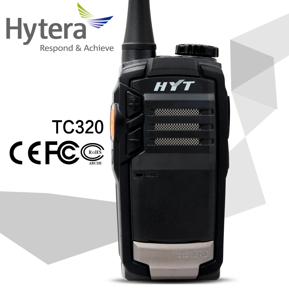 Hytera handheld wireless the walkie talkie top sale with battery and charger