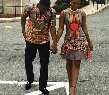 Oem Custom African S Clothing Fashion Ankara Women Dresses Men Top