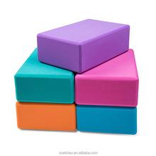 2018 Wholesale high quality environmental EVA foam Body building pressureproof Yoga block