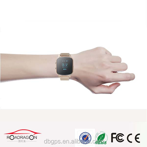 gps watch tracker for senior citizen with lbs wifi and gps three way location