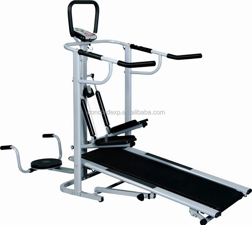 2017 Folding manual treadmill running machine cardio <strong>fitness</strong>